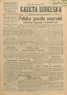 Gazeta Lubelska. R. 3, nr 43 (1947)