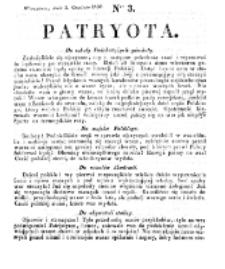 Patryota. 1830, nr 3 (3 Grudnia)