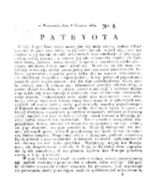 Patryota. 1830, nr 8 (8 Grudnia)