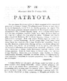 Patryota. 1830, nr 23 (23 Grudnia)