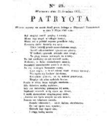 Patryota. 1830, nr 24 (24 Grudnia)