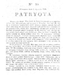 Patryota. 1831, nr 30 (2 Stycznia)