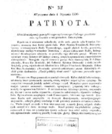 Patryota. 1831, nr 32 (4 Stycznia)