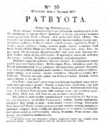Patryota. 1831, nr 36 (9 Stycznia)