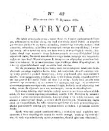 Patryota. 1831, nr 42 (15 Stycznia)