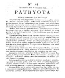 Patryota. 1831, nr 44 (17 Stycznia)