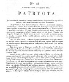 Patryota. 1831, nr 45 (18 Stycznia)