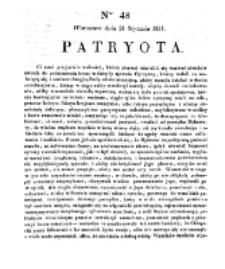 Patryota. 1831, nr 48 (21 Stycznia)