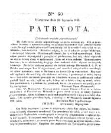 Patryota. 1831, nr 50 (24 Stycznia)