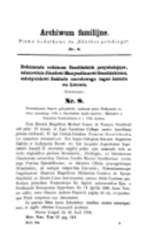 Archiwum Familijne. Nr 3 (1859)