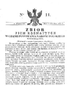 Zbiór Pism Rozmaitych Wychodzących w Czasie Powstania Narodu Polskiego.1830, nr 11 (17 Grudnia)