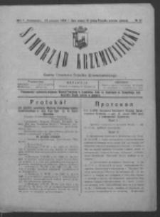 Samorząd Krzemieniecki. R. 2, nr 27 (23 sierpnia 1924)