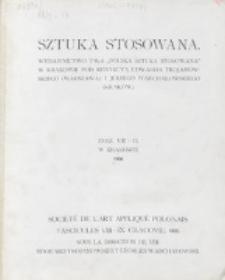 Sztuka Stosowana. Z. 8/9 (1906)