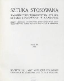 Sztuka Stosowana. Z. 11 (1908)