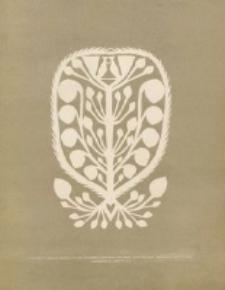 """Materyały : wydawnictwo Towarzystwa """"Polska Sztuka Stosowana"""" w Krakowie. Z. 4 (1904)"""