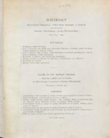 """Materyały : wydawnictwo Towarzystwa """"Polska Sztuka Stosowana"""" w Krakowie. Z. 5 (1904)"""
