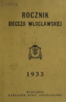 Rocznik Diecezji Włocławskiej na Rok 1933