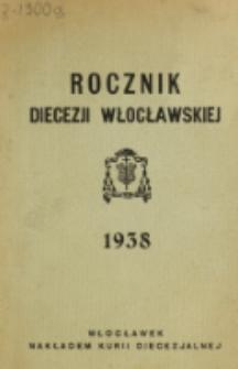 Rocznik Diecezji Włocławskiej na Rok 1938