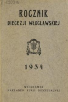 Rocznik Diecezji Włocławskiej na Rok 1934