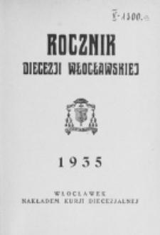 Rocznik Diecezji Włocławskiej na Rok 1935