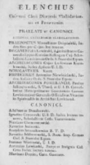 Elenchus Universi Cleri Dioecesis Vladislaviensis et Pomeraniae 1812