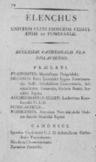 Elenchus Universi Cleri Dioecesis Vladislaviensis et Pomeraniae 1815