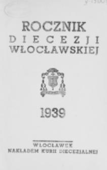 Rocznik Diecezji Włocławskiej na Rok 1939