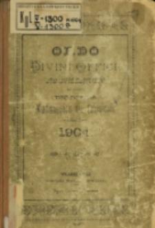 Ordo Divini Officii ad usum Universi Cleri Sæcularis Dioecesis Vladislaviensis seu Calissiensis pro Anno 1904