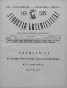 Samorząd Krzemieniecki. R. 3, nr 31/33 (30 grudnia 1925)