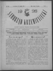 Samorząd Krzemieniecki. R. 4, nr 5 (20 lutego 1926)