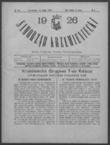 Samorząd Krzemieniecki. R. 4, nr 4 (10 lutego 1926)