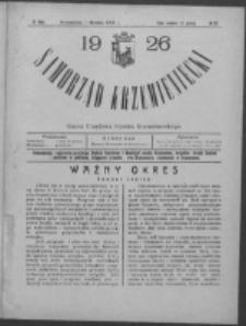 Samorząd Krzemieniecki. R. 4, nr 20 (1 września 1926)
