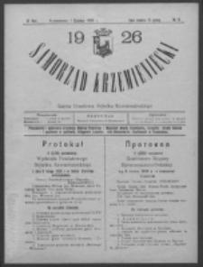 Samorząd Krzemieniecki. R. 4, nr 15 (1 czerwca 1926)