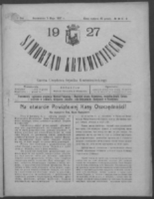 Samorząd Krzemieniecki. R. 5, nr 6/8 (5 maja 1927)