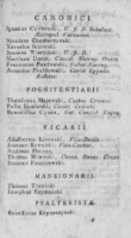 Elenchus Universi Cleri Dioecesis Vladislaviensis et Pomeraniae 1819