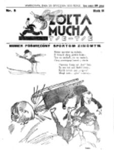 Żółta Mucha Tse-Tse. R. 2, nr 5 (29 stycznia 1930)