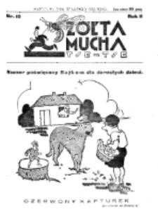 Żółta Mucha Tse-Tse. R. 2, nr 10 (27 lutego 1930)