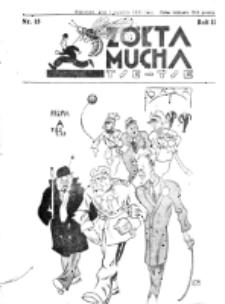Żółta Mucha Tse-Tse. R. 2, nr 15 (1 kwietnia 1930)