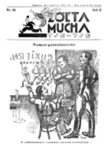Żółta Mucha Tse-Tse. R. 2, nr 16 (8 kwietnia 1930)