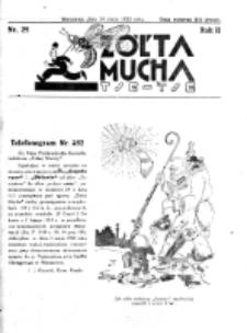 Żółta Mucha Tse-Tse. R. 2, nr 25 (14 maja 1930)