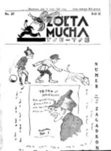 Żółta Mucha Tse-Tse. R. 2, nr 27 (21 maja 1930)
