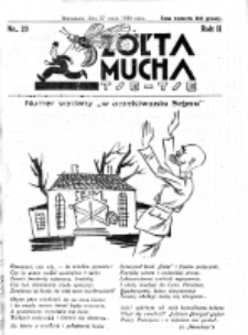 Żółta Mucha Tse-Tse. R. 2, nr 28 (27 maja 1930)