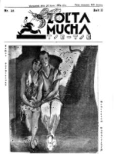 Żółta Mucha Tse-Tse. R. 2, nr 38 (28 lipca 1930)