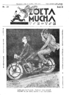 Żółta Mucha Tse-Tse. R. 2, nr 39 (4 sierpnia 1930)