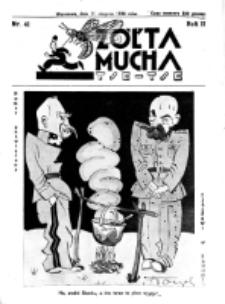 Żółta Mucha Tse-Tse. R. 2, nr 41 (11 sierpnia 1930)