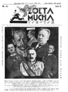 Żółta Mucha Tse-Tse. R. 2, nr 42 (15/17 sierpnia 1930)