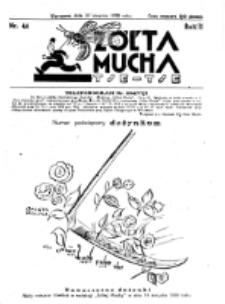 Żółta Mucha Tse-Tse. R. 2, nr 44 (26 sierpnia 1930)