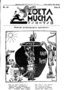 Żółta Mucha Tse-Tse. R. 2, nr 49 (24 września 1930)