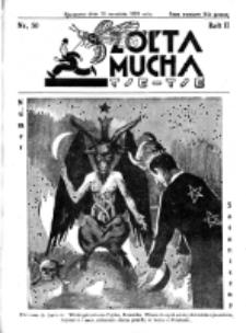 Żółta Mucha Tse-Tse. R. 2, nr 50 (30 września 1930)