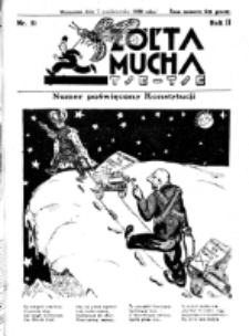 Żółta Mucha Tse-Tse. R. 2, nr 51 (7 października 1930)